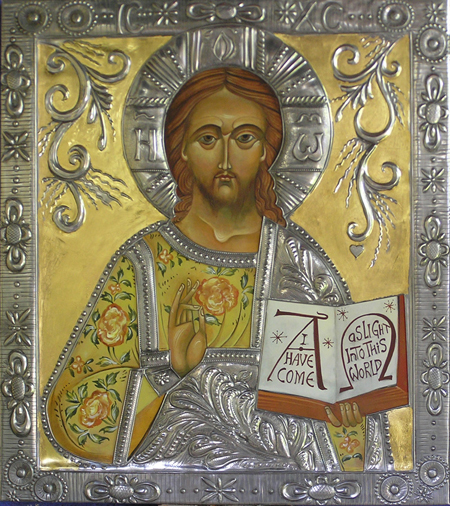 Yellow Pantocrator - Mary Jane Miller