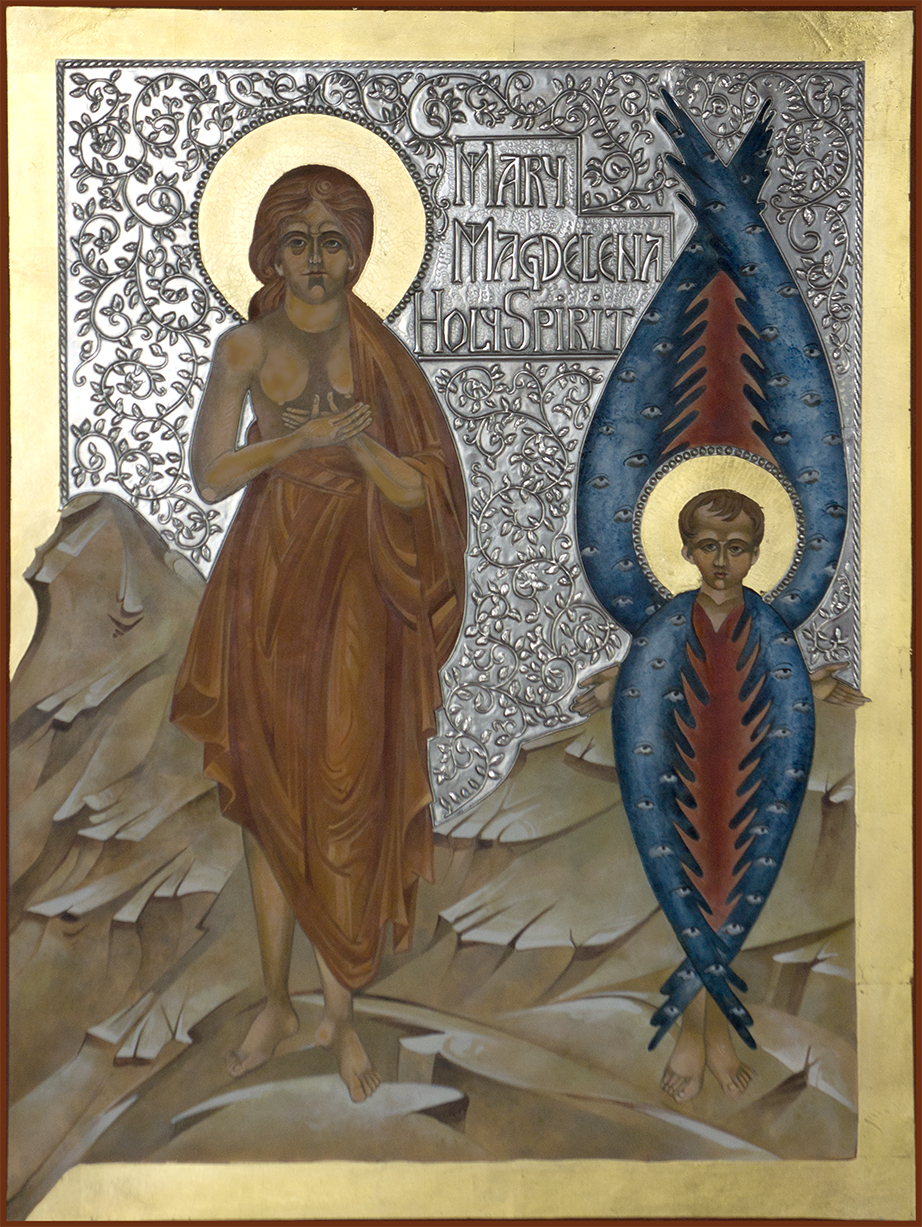 Mary and Holy Spirit - Mary Jane Miller